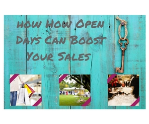 How Open Days Can Boost Your Sales