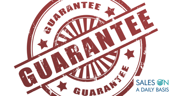 How A Money Back Guarantee Can Boost Your Sales