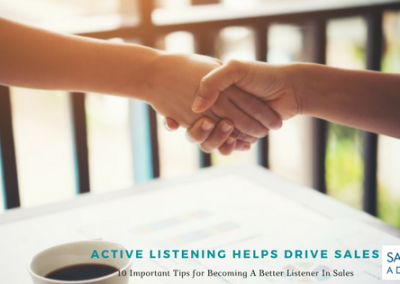 Active Listening Helps Drive Sales