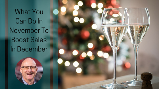 What You Can Do In November To Boost Sales In December