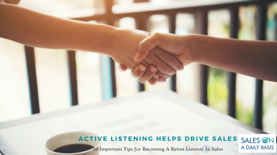 Image Active Listening Helps Drive Sales